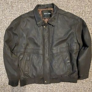 MEN'S PIERRE CARDIN LEATHER JACKET